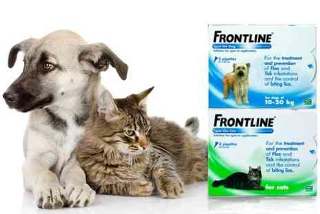 VetePet - Frontline Spot On Flea and Tick Treatment  With Free Delivery - Save 5%