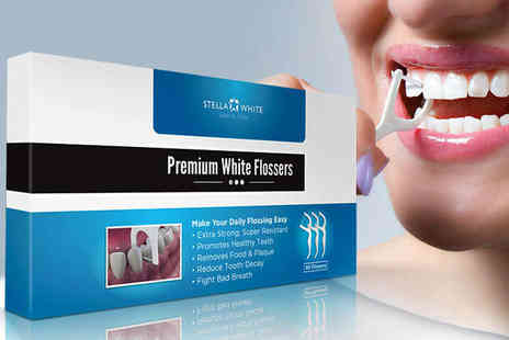 Stella White  - Teeth Flossers  - Save 0%