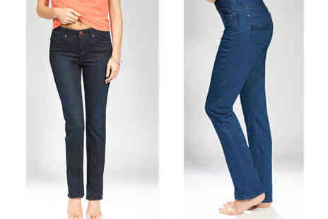 Ruby London - Vera Straight Leg Tummy Tuck In Jeans - Save 71%