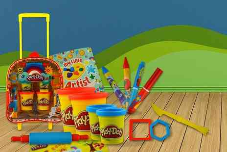 Fancy Suits -  14 piece Play Doh childrens activity backpack - Save 50%