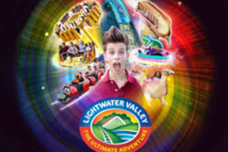 Lightwater Valley Attractions - Tickets to Lightwater Valley, Full of Exciting Rides and Attractions for the Whole Family - Save 21%