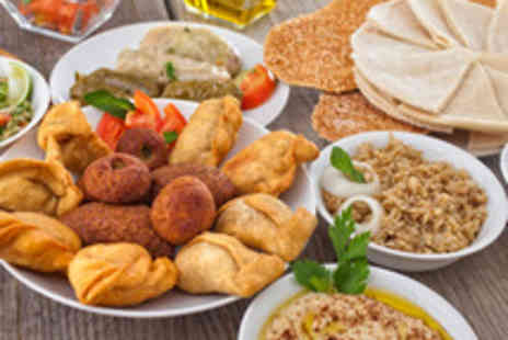 Yamal Alsham Restaurant - 11 Dish Lebanese Set Menu with Wine for Two  - Save 72%