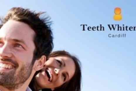 Teeth Whitening Cardiff - One Hour LED Teeth Whitening For One - Save 76%