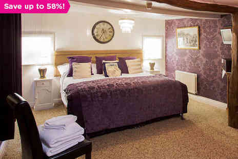 The Dalesman Country Inn - Two Night Stay for Two with Daily Continental Breakfast - Save 58%