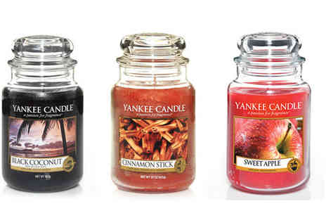 AKJ Enterpises - Large Yankee Candle - Save 36%
