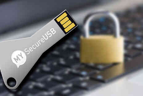 MYSecurityCenter - Amazing 16GB Secure USB Key  - Save 75%