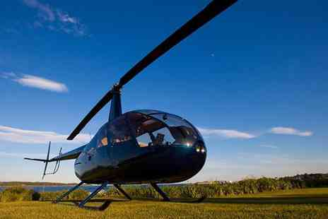 Northumbria Helicopters - Helicopter buzz flight   - Save 34%