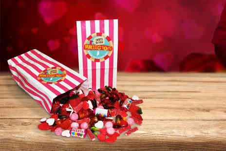 Mr Big Tops -   500g Valentines sweetie bag   - Save 40%