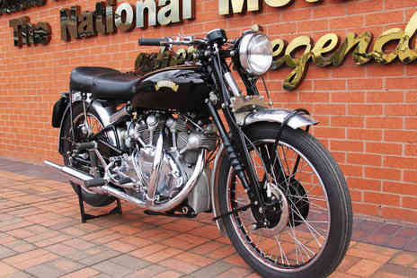 National Motorcycle Museum - Entrance for Two Adults or Family of Four  - Save 50%