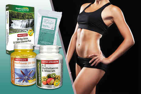 Pinnacle Health - Four Piece detox supplements bundle Plus DELIVERY IS INCLUDED  - Save 60%