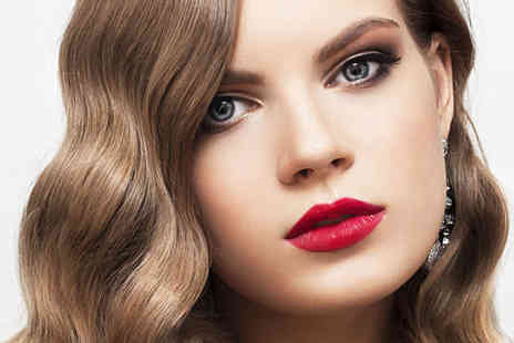 Studio 18 - Blow Dry, Make Up Application, and Strip Lashes, Haircut, Blow Dry, and Conditioning Treatment or Haircut, Blow Dry, and Eyebrow Shape or Tint  - Save 45%