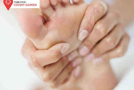The Reflexology Space - One Reflexology Session - Save 68%