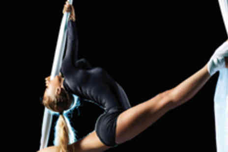 Emmas Pole Dancing - £45 for 3 aerial arts dancing sessions using silks, hoops and trapeze - Save 71%