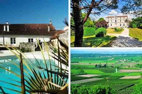 Domaine de la Laigne - Seven nights for Four in cottage with pool access - Save 50%