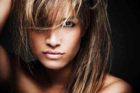 Salon Luxe -  Half head of highlights or full head of colour, cut & blow dry   - Save 72%