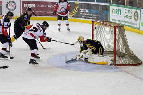 Manchester Phoenix Ice Hockey Club - Two adults Ticket  to see a Manchester Phoenix ice hockey home game - Save 44%