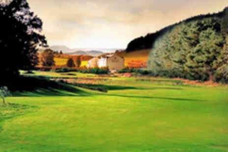 Macdonald Cardrona Hotel - Round of Golf on a Championship Course with Refreshments for One  - Save 68%