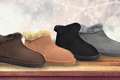 Just Fiver  -  Ladies Faux Fur Boots  - Save 63%