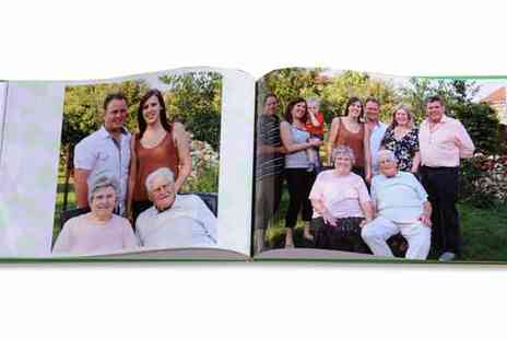 2m Print - Customised A4 Photobook with up to 106 Pages - Save 79%