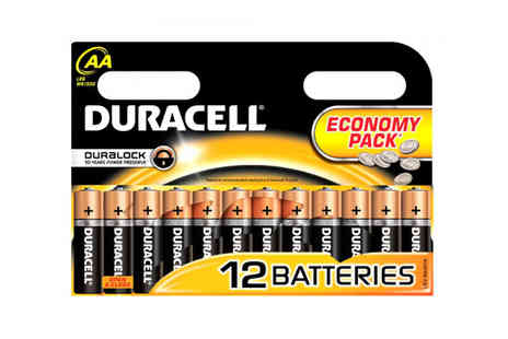 Battery Warehouse  - Choice of Duracell Batteries - Save 39%