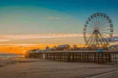South Beach Hotel - Two night Blackpool break for Two people plus sandwiches & chips on arrival - Save 0%