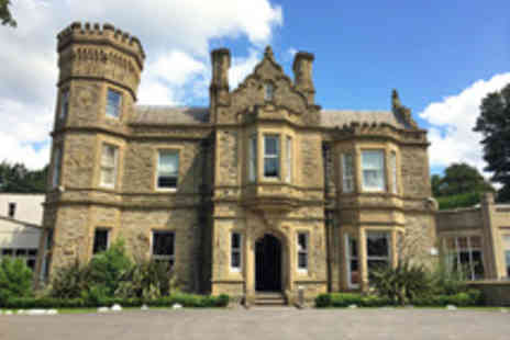 Great National Hollin Hall Hotel - Cheshire Peak District Break with Cream Tea, Dining and Prosecco for Two - Save 49%