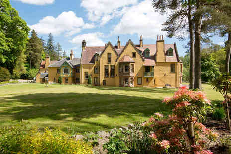Leithen Lodge - Three Night Self Catering Stay for Two with Cream Tea on Arrival, 50% Off Beauty Treatments and 20% Off Guinot Products  - Save 73%