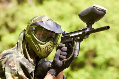 Force 10 Paintball - Paintballing day for Five including 100 paintballs each - Save 60%