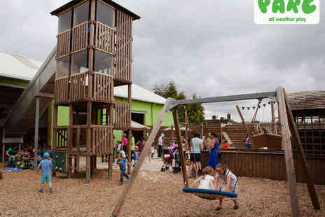 Parc Play - Six Play Passes to All Weather Play Centre for 2 to 3 Year Olds  - Save 54%