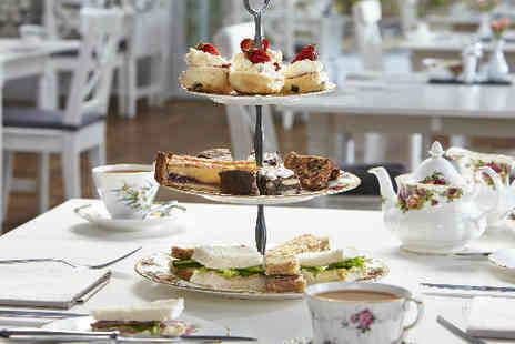 Broadoaks Country House - Afternoon Tea for two with Bubbly - Save 44%