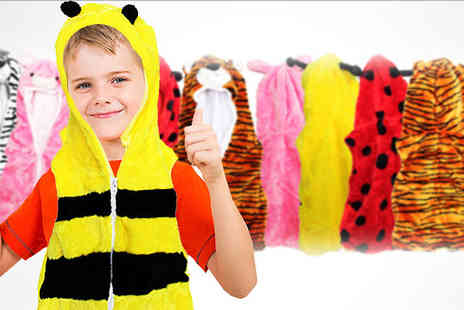 Toy Loco -  Childrens Animal Bodywarmer  - Save 60%