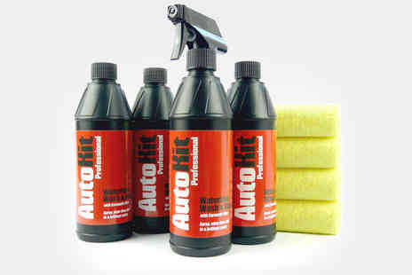AutoKit Pro - Waterless Car Wash Kit - Save 50%