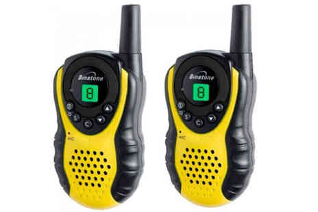 CM Direct - Binatone Latitude 100 Twin Pack Walkie Talkies - Save 37%
