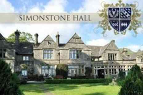 Simonstone Hall - One Night Stay For Two With English Breakfast - Save 72%