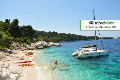 Huck Finn Adventure Travel - Seven night Croatian island hopping holiday including accommodation, breakfast, transfers, cycling, kayaking and more  - Save 18%