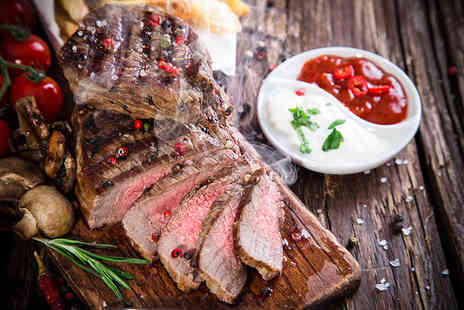 Oscars - Two course steak dinner for Two  - Save 62%