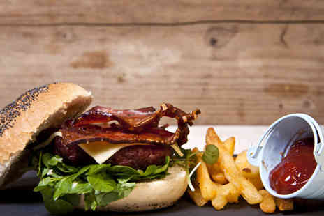 Stokey Stoke - Two burgers and Two cocktails -  Save 54%