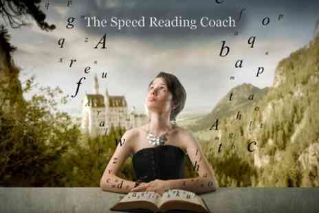 The Speed Reading Coach - Four Hour Speed Reading Class for £75 - Save 62%