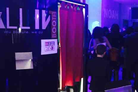 All in 1 booth - Three Hours Photobooth Hire  - Save 32%