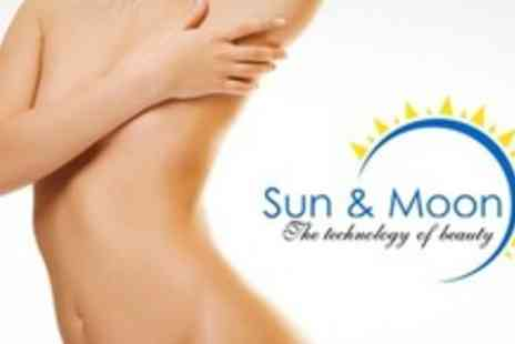 Sun & Moon Beauty - Three Sessions of Laser Lipo - Save 76%
