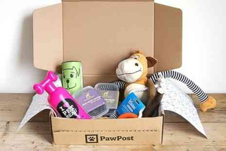 PawPost - PawPost Cats or Dogs Hamper First Months Subscription With Free Delivery  - Save 56%