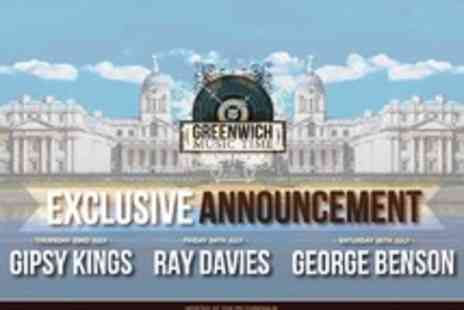Greenwich Music Time - Presale Tickets to Greenwich Music Time featuring Gipsy Kings, Ray Davies and George Benson - Save 0%