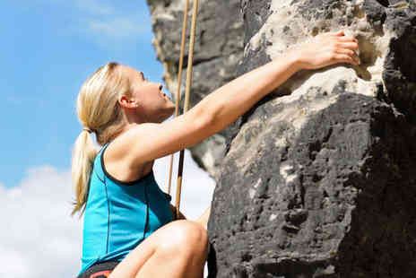 Climb and Adventure - Half Day Rock Climbing or Abseiling Experience - Save 52%