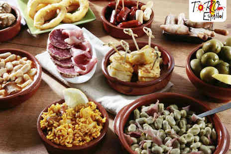Toro Espanol - Spanish Tapas Meal for Two  - Save 61%