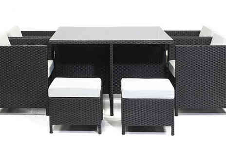 whiteboxoutlet - Acro Outdoor Rattan Dining Set for 8 or 10 People - Save 47%