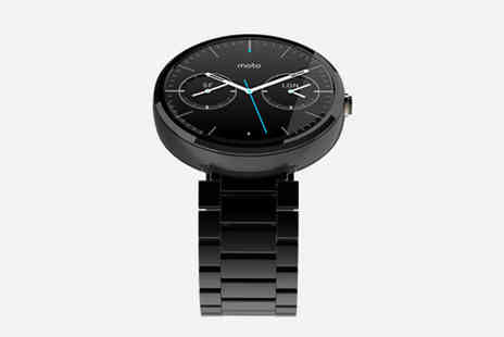 Global Phoenix Computer Technologies - Motorola Moto 360 Android Smartwatch - Save 21%