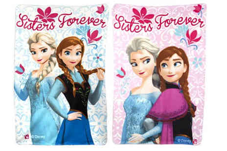 ToolCollection  - Disney Frozen Blanket in Blue or Pink - Save 0%