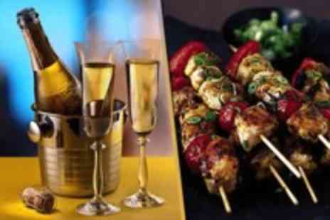 Wahu Spinningfields - Sharing platter for Two with a bottle of Prosecco  - Save 62%