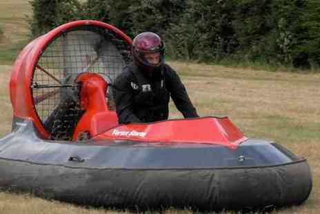 High Cross Hovercraft -  90 minute on land hovercraft experience  - Save 56%