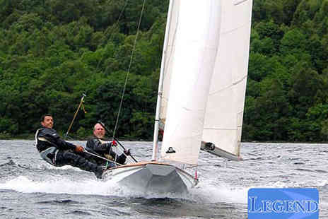 Legend - Two Hour Group Sailing Lesson for One or Two Hour Private Lesson for Two  - Save 64%